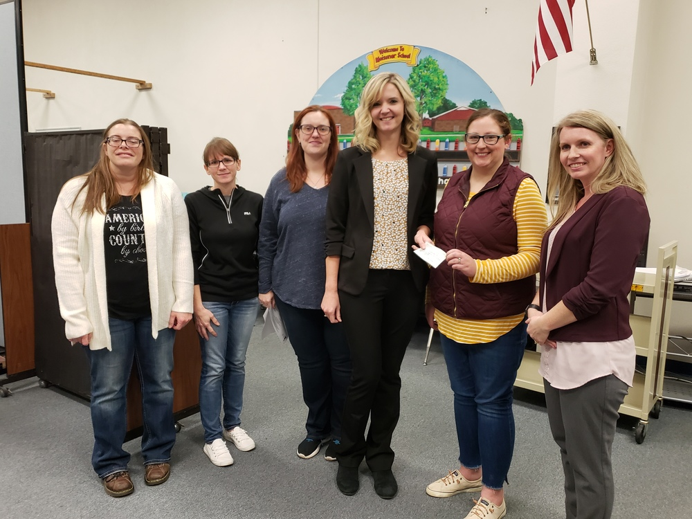 WR Parents for Kids Donates to Playground Purchase