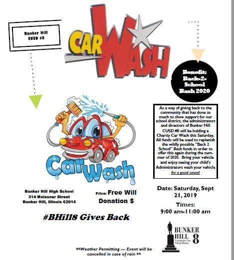 Charity Car Wash Event