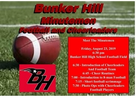 2019 #BHill8 Football Schedule