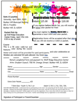 REGISTER NOW for the Wolf Ridge Color Run