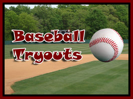 Jr. High Boys' Baseball Tryouts