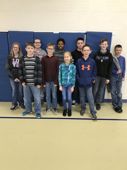 2019 Spelling Bee Particpants