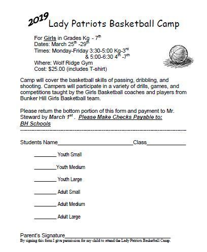 GBB Camp Flyer